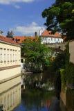 Certovka - Praga Fotos de archivo libres de regalías