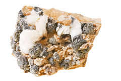 Cerussite, mineral, stone . Stock Photography