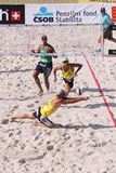 Cerutti Alison - beach volleyball star Stock Photography
