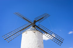Cervantes, cereal mills mythical Castile in Spain, Don Quixote, Stock Photography