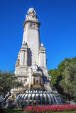 Cervantes Monument Royalty Free Stock Photos