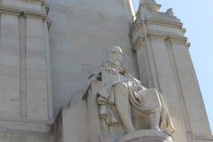 Cervantes staty Fotografering för Bildbyråer