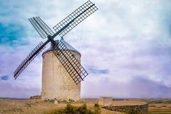 Cervates Windmühle Stockfoto