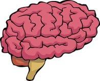 Cerveau de bande dessinée illustration libre de droits
