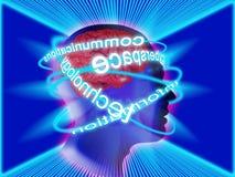Cerveau humain Photographie stock