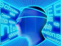 Cerveau humain Photos libres de droits