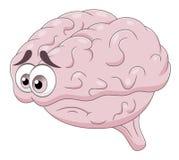 Cerveau triste Images stock
