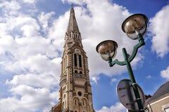 cerveaux Pays de la Loire de clocher image libre de droits