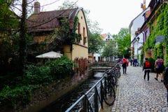 Cervecería de Friburgo Feierling, Alemania Imágenes de archivo libres de regalías