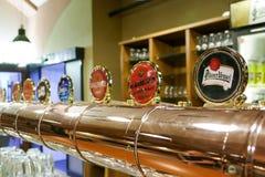Cervecería de Pilsner Urquell fotografía de archivo
