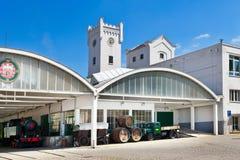 Cervecería de Pilsner Urquell a partir de 1839, Pilsen, República Checa Fotografía de archivo