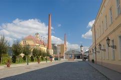 Cervecería - Pilsner Urquell Imágenes de archivo libres de regalías