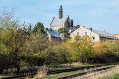 Cervecería vieja Olomouc imagen de archivo libre de regalías