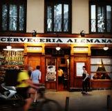 Cerveceria Alemana zdjęcie stock