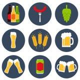 Cerveja Ícone da cerveja Imagem de Stock