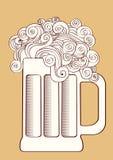 Cerveja. Imagem de Stock