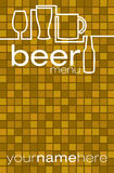 Cerveja! ilustração do vetor