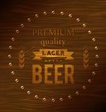 Cerveja de cerveja pilsen superior da qualidade Fotos de Stock