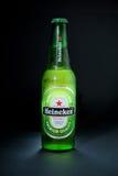 Cerveja de Heineken Fotografia de Stock