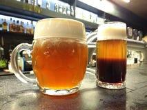 Cerveja de Kraft Fotos de Stock Royalty Free