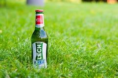 Cerveja de Lech Free Imagens de Stock