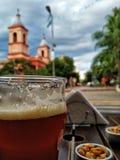 Cerveja de Sacreed foto de stock