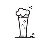 Cerveja do ícone do vetor Foto de Stock