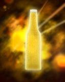 Cerveja do espaço Foto de Stock Royalty Free