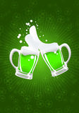Cerveja do St. patrick Foto de Stock Royalty Free