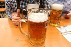 Cerveja em munich Fotografia de Stock
