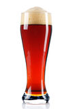 Cerveja escura Fotografia de Stock