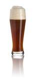 Cerveja escura do trigo imagem de stock