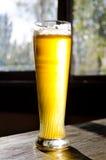 Cerveja gelado no vidro alto clássico Imagens de Stock