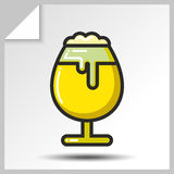 Cerveja icons_10 Fotografia de Stock Royalty Free