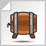 Cerveja icons_8 Imagem de Stock