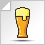 Cerveja icons_5 Fotografia de Stock Royalty Free