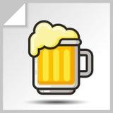 Cerveja icons_3 Imagens de Stock Royalty Free