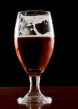 Cerveja inglesa vermelha irlandesa Imagem de Stock