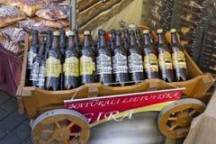 Cerveja lituana nacional Fotografia de Stock