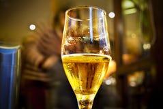 Cerveja média Imagem de Stock Royalty Free