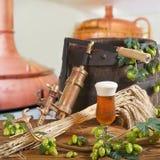 Cerveja na torneira Imagens de Stock