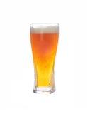 Cerveja no vidro Imagens de Stock Royalty Free