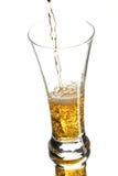 Cerveja no vidro Imagem de Stock Royalty Free