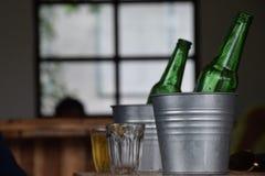 Cerveja para dois Imagem de Stock Royalty Free