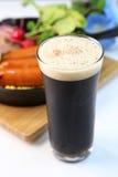 Cerveja preta Imagens de Stock Royalty Free
