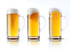 Cervejas Foto de Stock