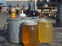 Cervejas do ofício Imagens de Stock Royalty Free