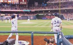 Cervejeiros de Braun Lind do basebol Imagem de Stock Royalty Free