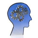 Cervello degli ingranaggi royalty illustrazione gratis