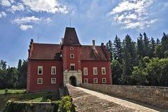 Cervena Lhota城堡 库存图片